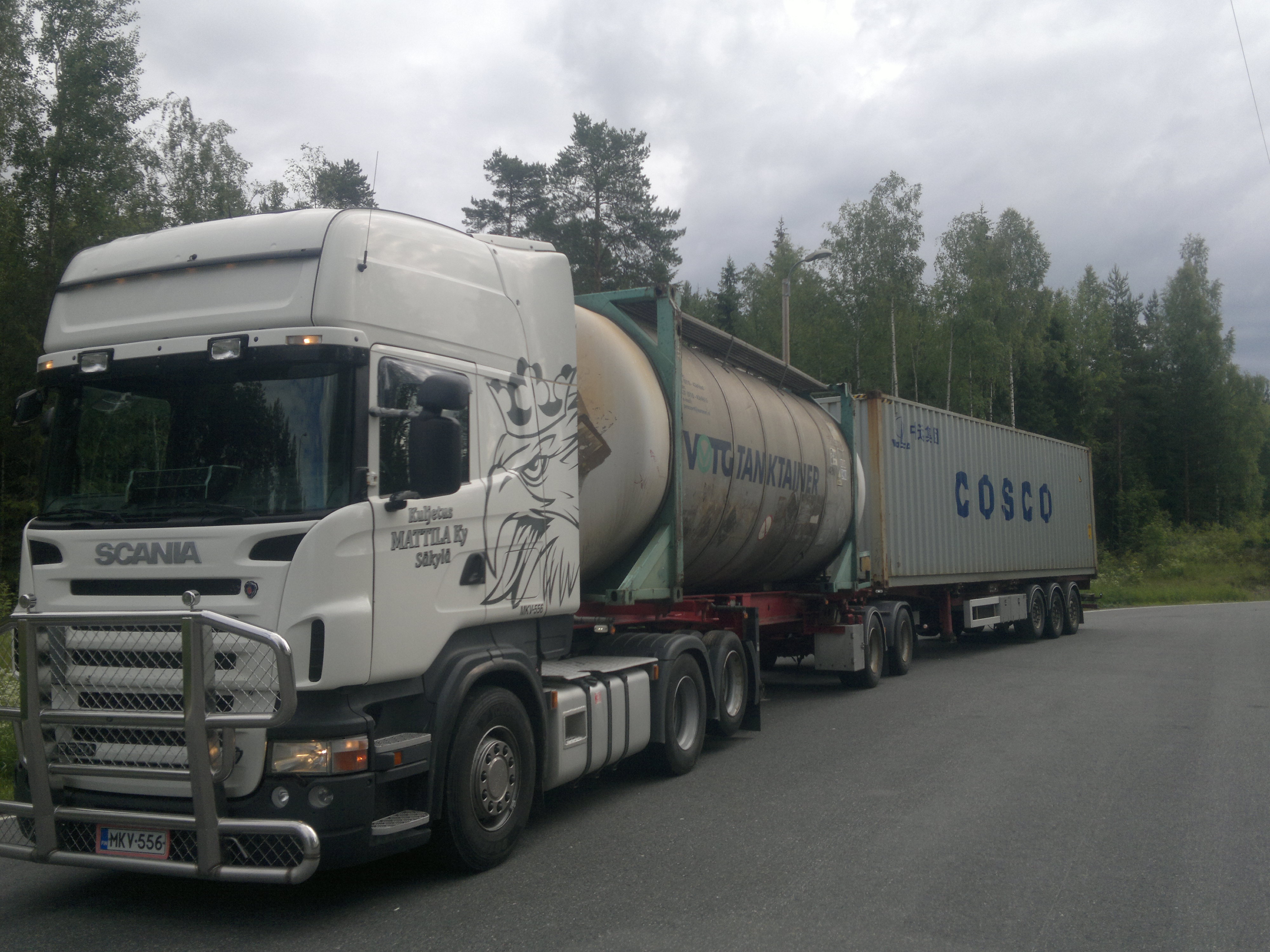 Konttikuljetukset suomessa